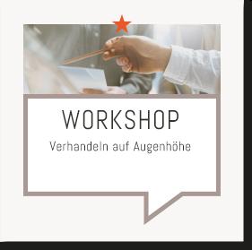 Heiko van Eckert - Top Deal Consulting - Workshop: Verhandeln auf Augenhöhe