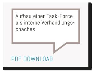 Heiko van Eckert - Top Deal Consulting - Heiko van Eckert - Top Deal Consulting - Aufbau einer Task-Force als interne Verhandlungscoaches