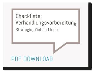 Heiko van Eckert - Top Deal Consulting - Checkliste Verhandlungsvorbereitung
