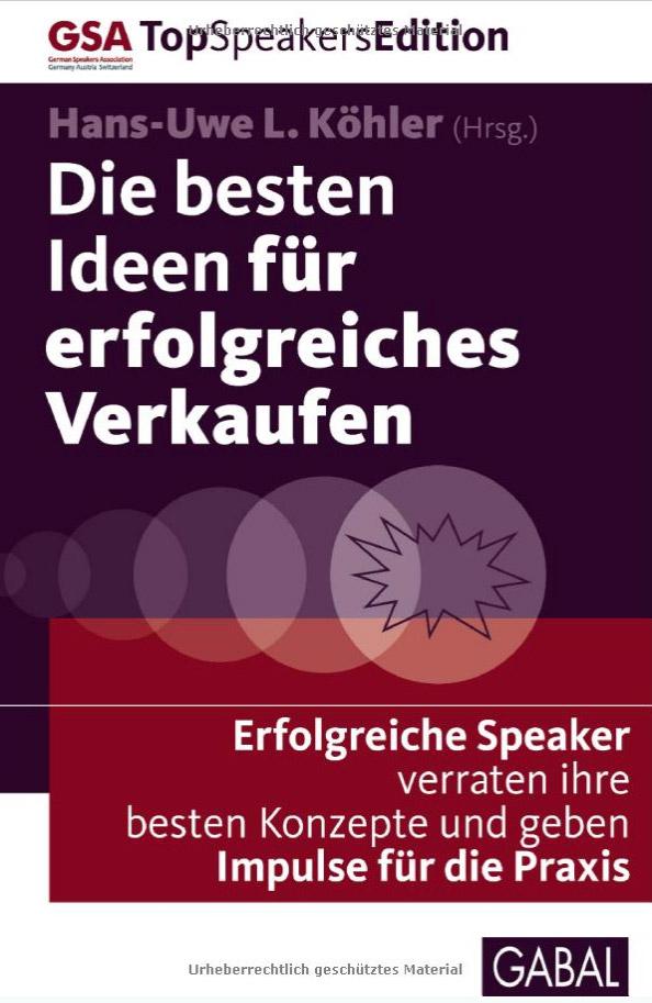 Heiko van Eckert - Top Deal Consulting - Buch Die besten Ideen für erfolgreiches Verkaufen