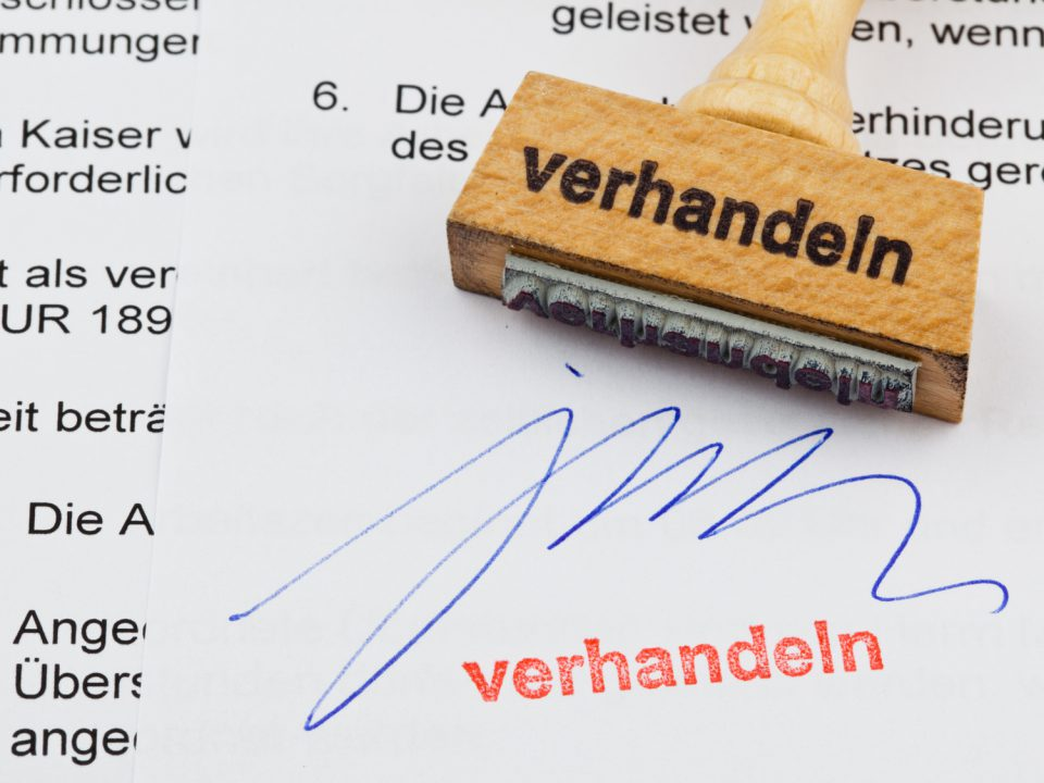 Heiko van Eckert, Verhandlung, Einigung, GroKo, Sondierungsgespräche