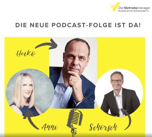 Podcast, Vertrieb, Verhandlung, Heiko van Eckert